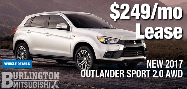 New 2017 Mitsubishi Outlander Sport Manager Special