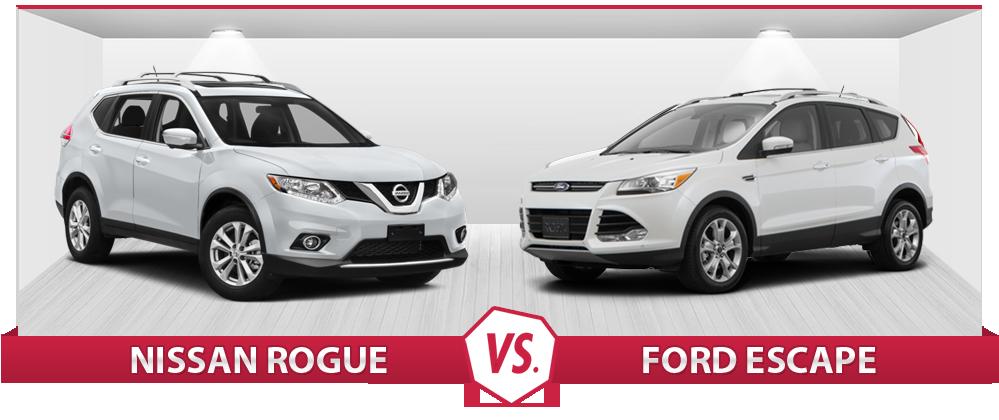 2016 Nissan Rogue vs 2016 Ford Escape | Compare Now | Burlington ...