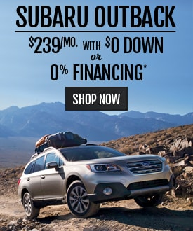 Subaru Outback Deal
