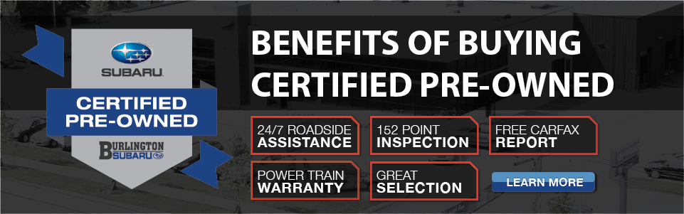 Subaru Certified Pre Owned Benefits