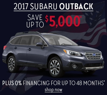 2017 Subaru Outback Deal