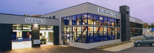 Burlington Subaru Showroom and Service Center