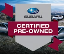 Subaru Certified Pre Owned Inventory