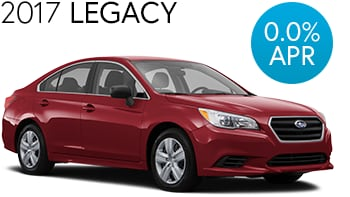 Subaru Legacy Finance Deal