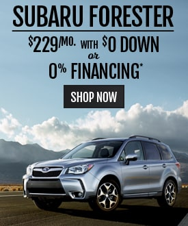 Subaru Forester Deal