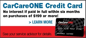Auto Service and Repair Credit Card