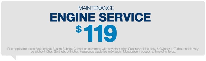 Clay subaru service coupon