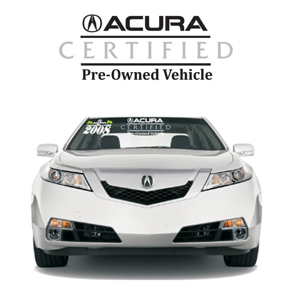 Preowned Acura Rdx: Certified Pre-Owned