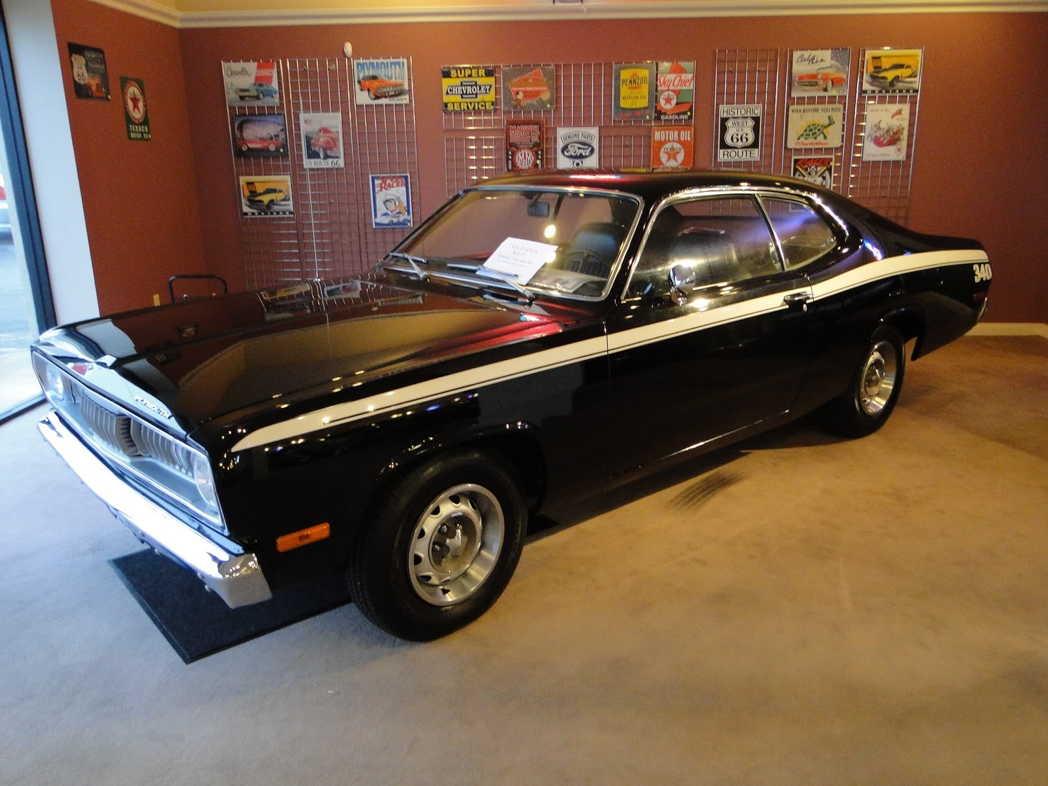 new 1972 plymouth duster 340 sold to eastern shore glen burnie md baltimore. Black Bedroom Furniture Sets. Home Design Ideas