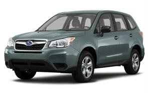 2014 Subaru Forester Color Jasmine Green