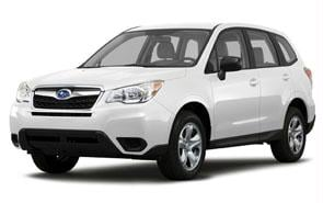 2014 Subaru Forester Color Satin White Pearl