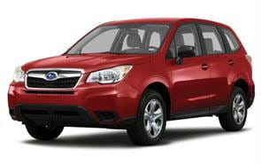 2014 Subaru Forester Color Venetian Red Pearl