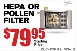 HEPA or Pollen Filter at Camelback VW | AZ Volkswagen Dealer