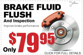 Coupon Brake Fluid Flush | Camelback Ford Discount Phoenix AZ