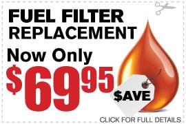 Coupon Fuel Filter | Camelback Ford Discount Phoenix AZ