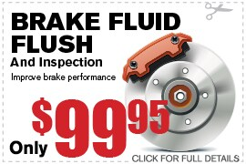 Coupon Brake Fluid Flush | Camelback Ford Discount Phoenix AZ