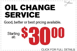 Coupon Oil Change Special | Camelback Ford Discount Phoenix AZ