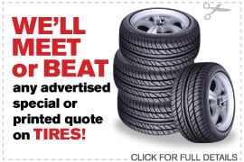 Coupon Tire Special | Camelback Ford Discount Phoenix AZ