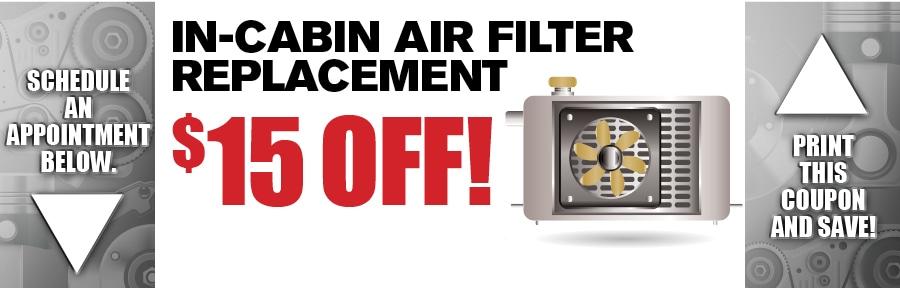 Cabin Air Filter Replacement Car Service Camelback Kia