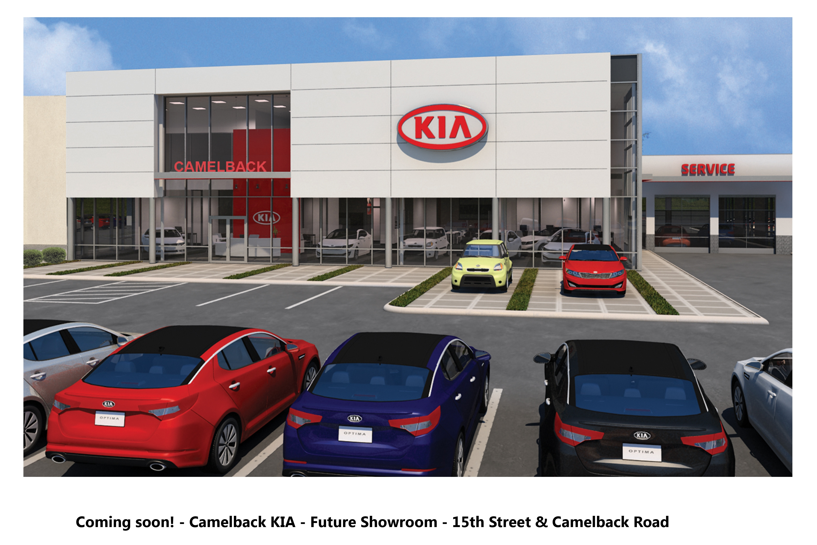Camelback Kia Dealership History Hours Location Contact