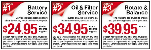 Del Toyota Coupons Actual Coupons