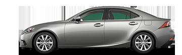 Lexus IS comparison