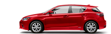 Lexus CT comparison