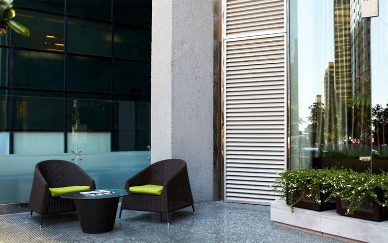 Lexus Hotel Le Germain Outside