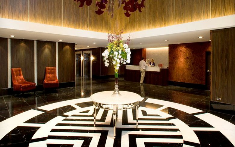 Lexus Hotel Lobby