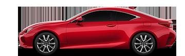 Lexus RC Comparison