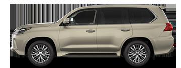 Lexus LX comparison