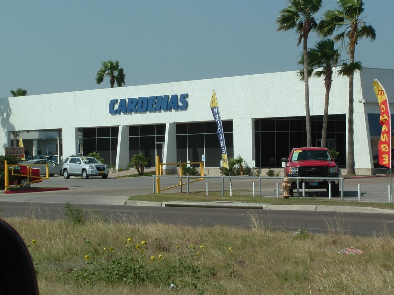 Used auto parts october 2014 for Cardenas motors in brownsville texas