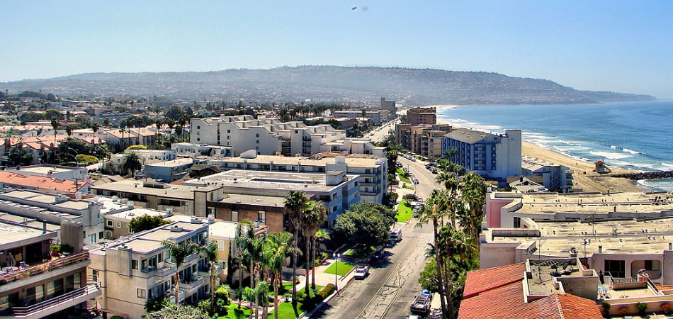 Scenic view of Torrance, CA