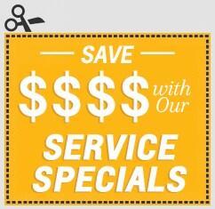 Click For Service Specials