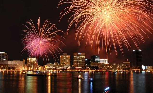 Chesapeake City Park Th July Fireworks