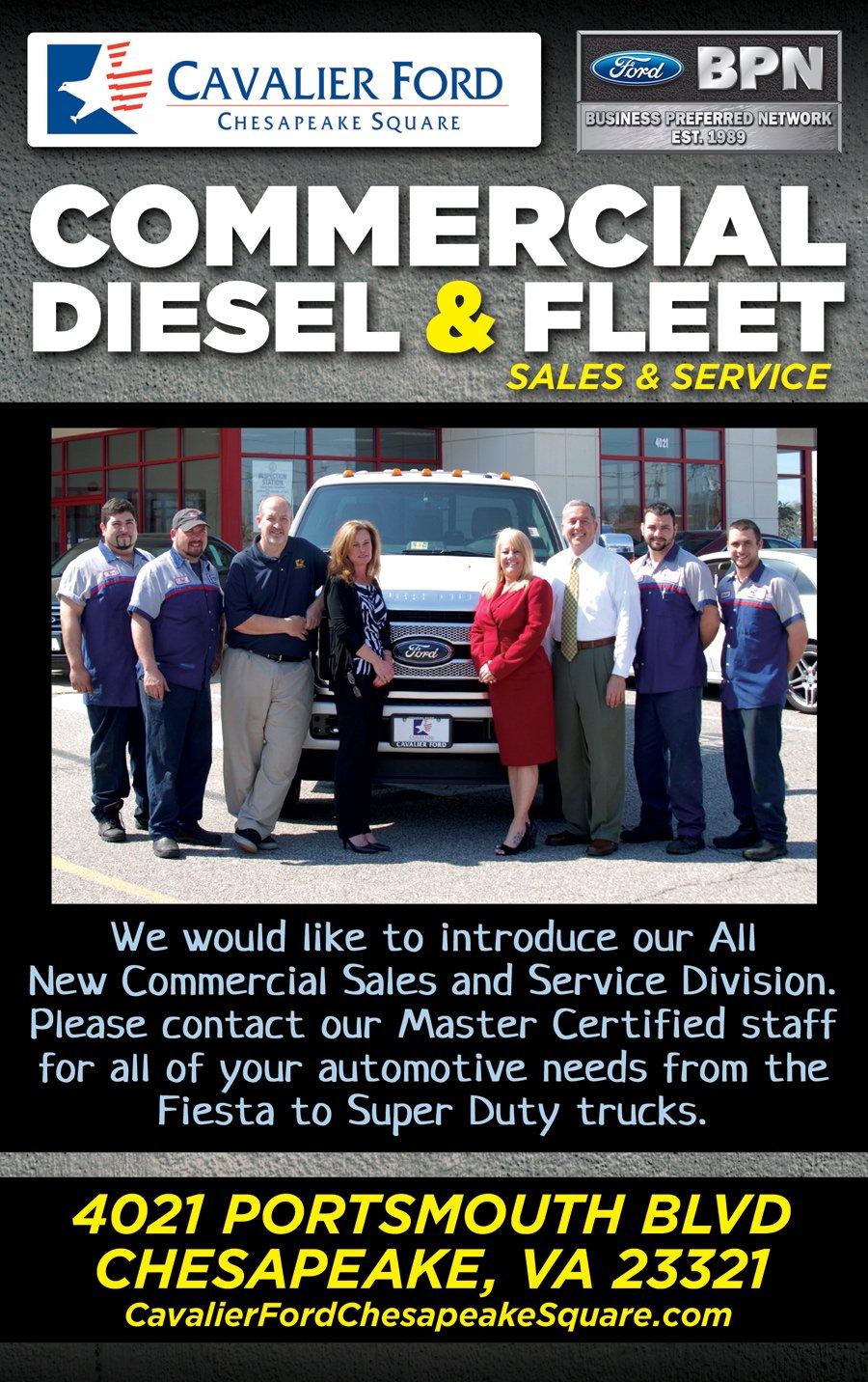 commercial truck service chesapeake va