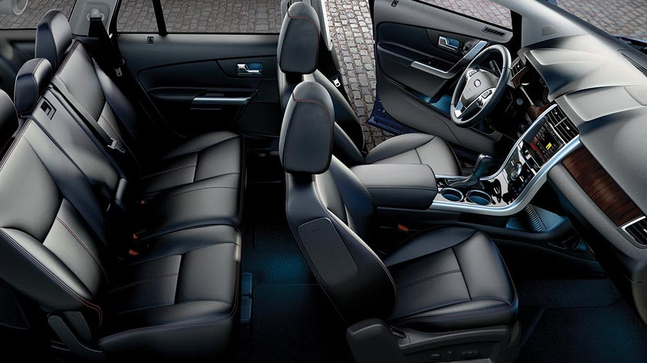 Leather-trimmed Seats With