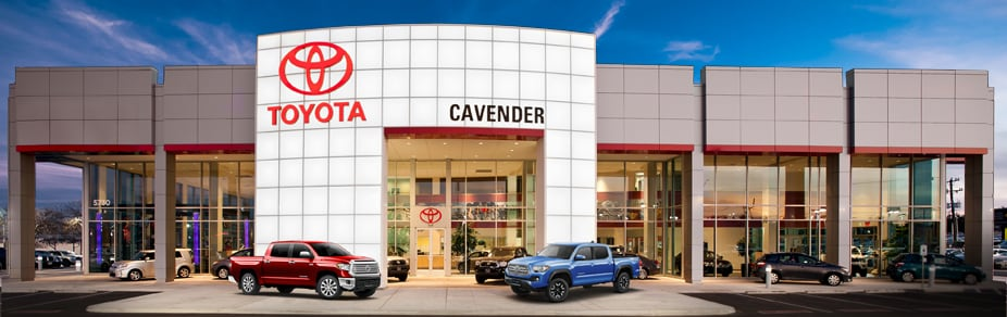 Toyota Dealership near Me | Directions to Cavender Toyota