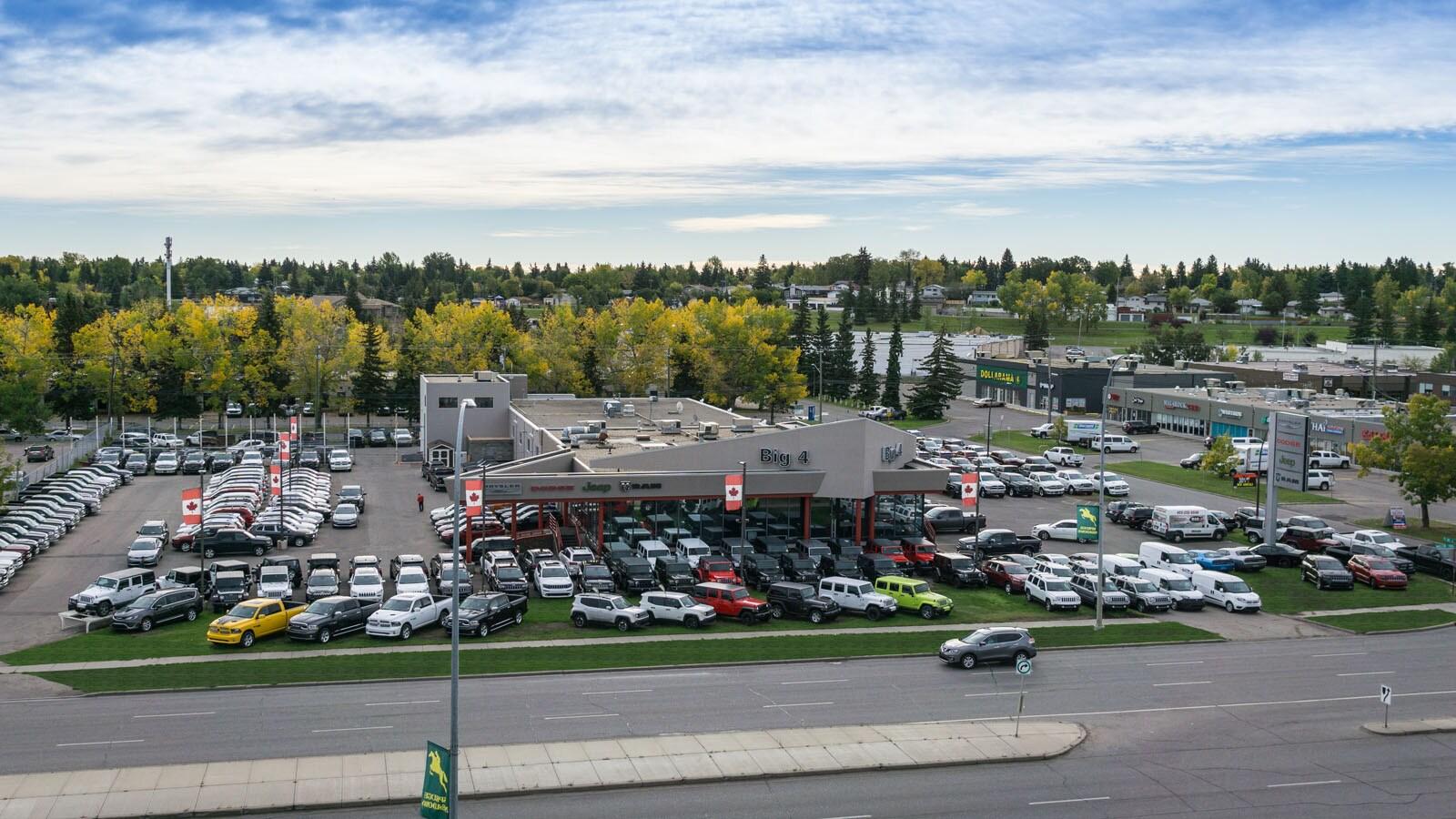 Big 4 Motors Ltd. | New Chrysler, Jeep, Dodge, Ram ...