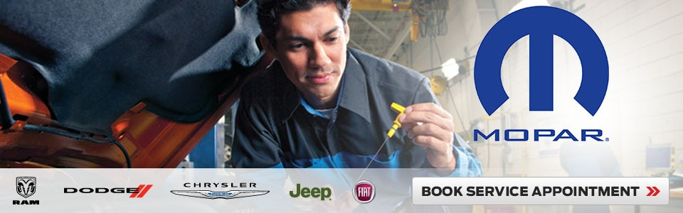 Certified Chrysler Dodge Jeep Ram Service Centre