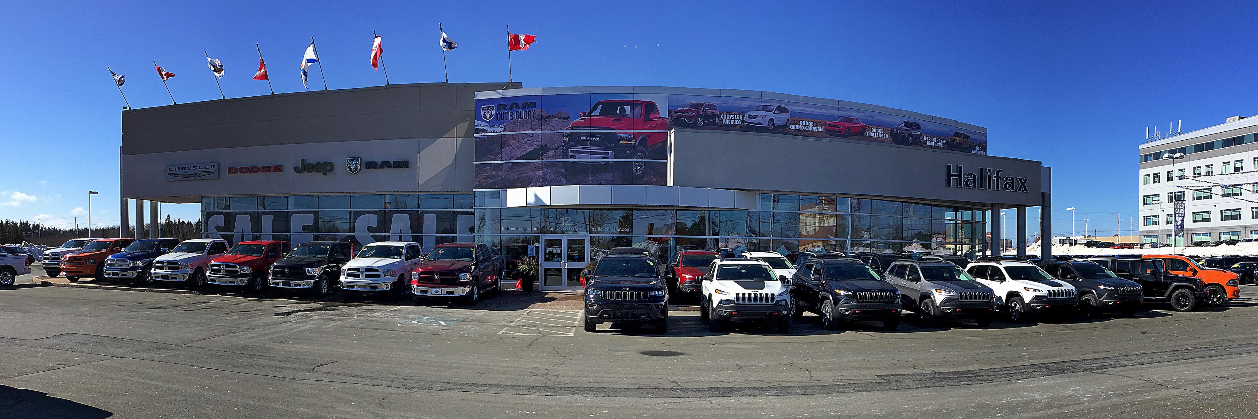 Halifax Chrysler Dodge New Dodge Jeep Chrysler Ram
