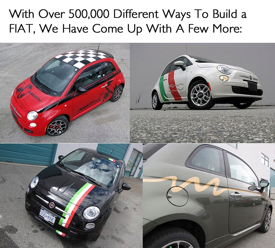 FIAT Of Maple Ridge New  Used Car Dealer In Maple Ridge And - Custom car decals vancouver   how to personalize
