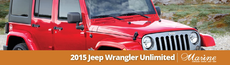 2015 Jeep Wrangler Unlimited in Vancouver, BC