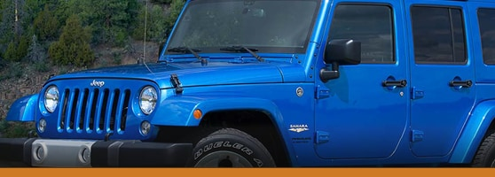 Blue 2015 Jeep Wrangler Vancouver