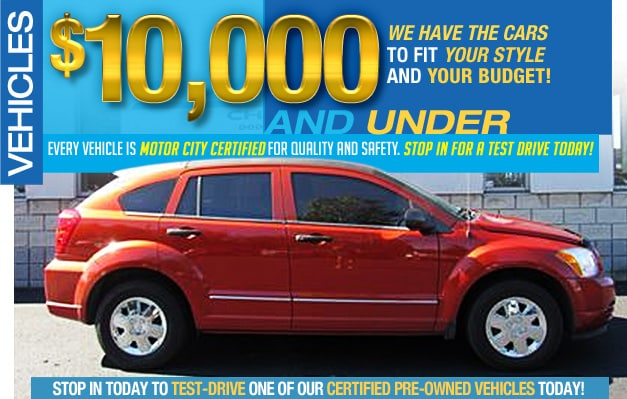 Motor City Chrysler Dodge Jeep Ram Vehicles For Sale In