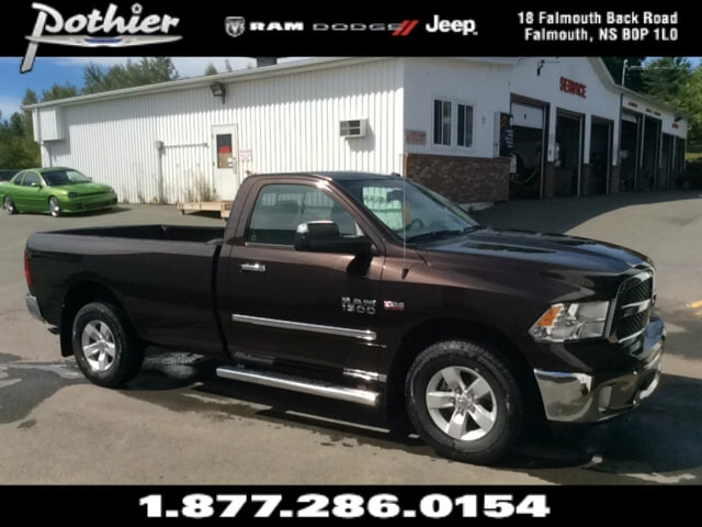2016 Ram 1500 SLT  | CLOTH | SIDESTEPS | MUD FLAPS | UCONNECT | Truck Regular Cab
