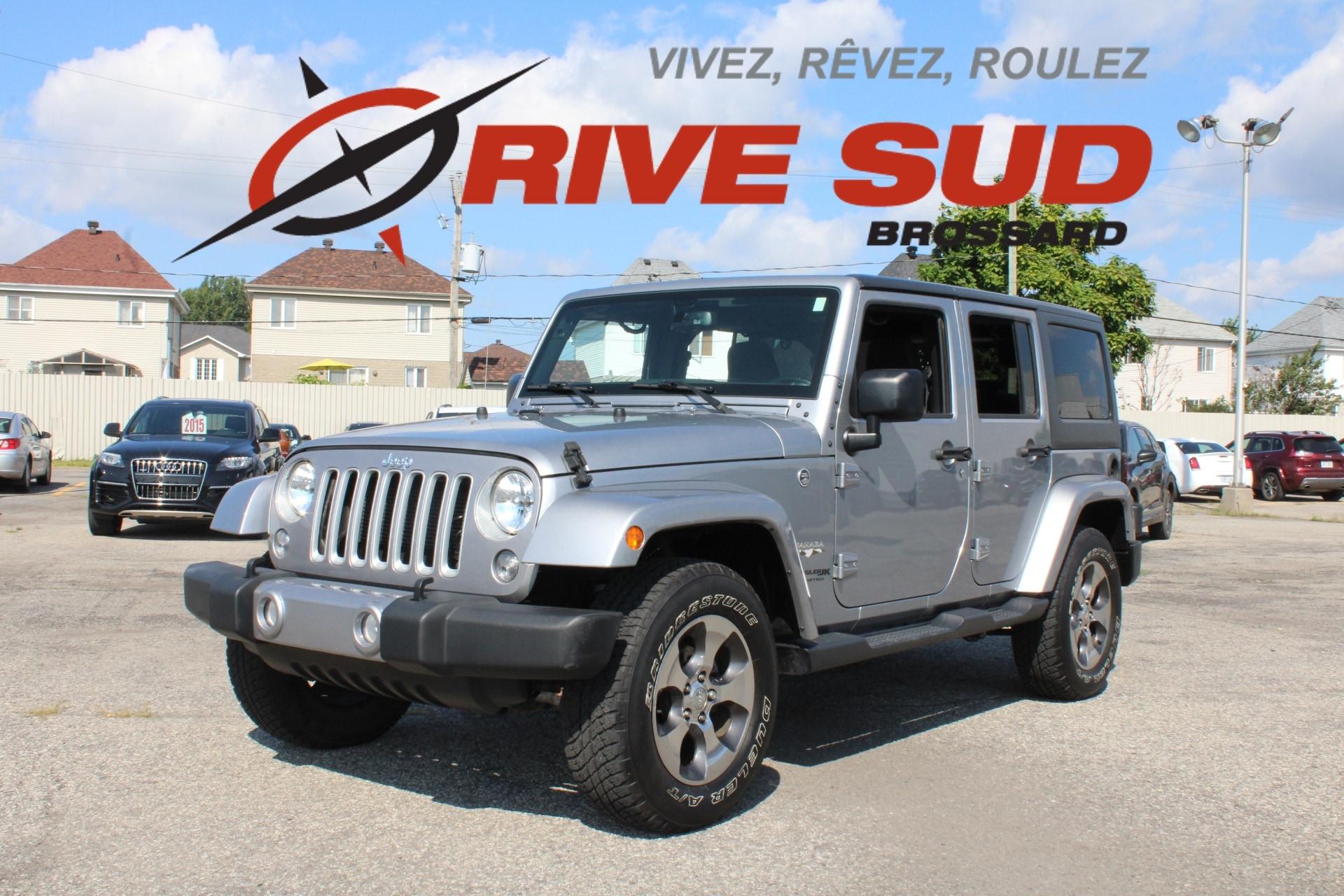 Jeep Wrangler 2018 Unlimited Sahara