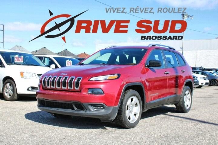 Jeep Cherokee 2015 SPORT *SIÈGES+VOLANT CHAUFFANT*