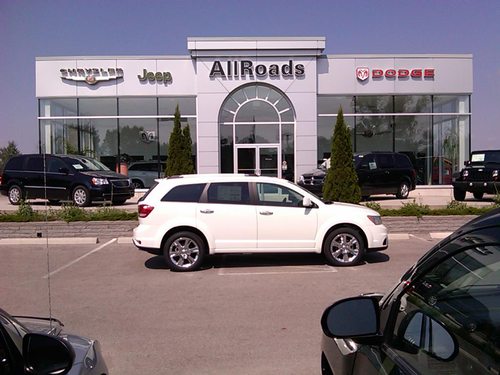 2011 Dodge Journey R/T All wheel drive, low kms! SUV