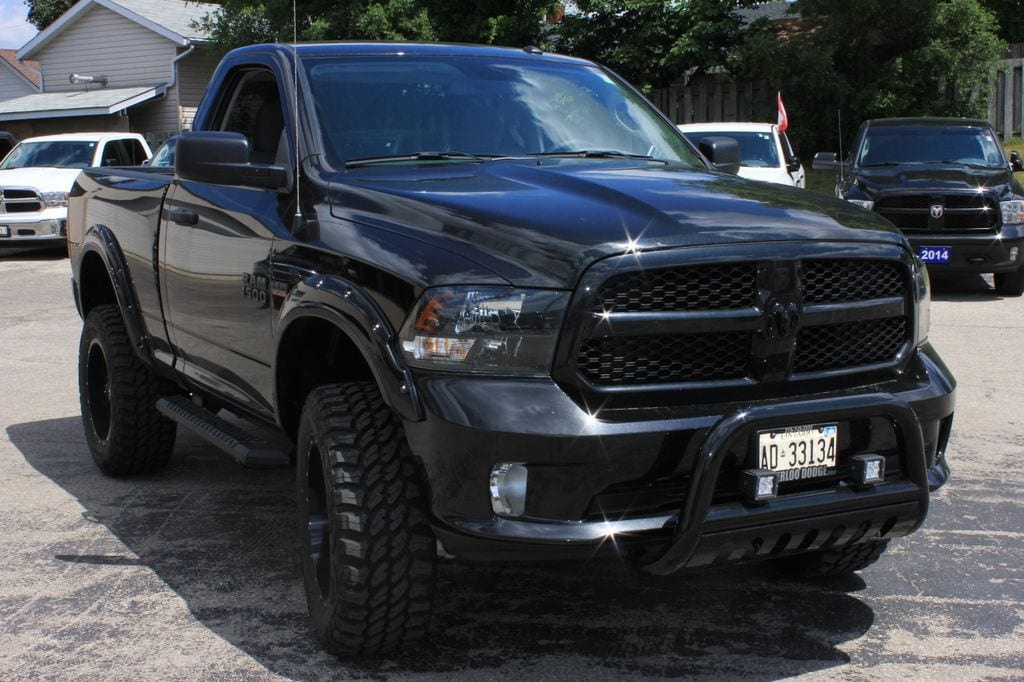 2016 Ram 1500 Express, Lifted With Tons OF Upgrades. Pickup